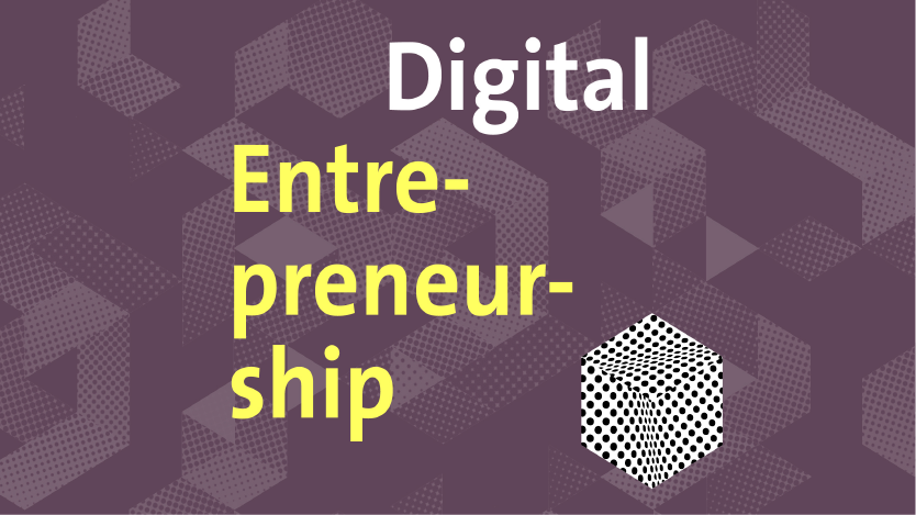Logot UZH Digital Entrepreneurship