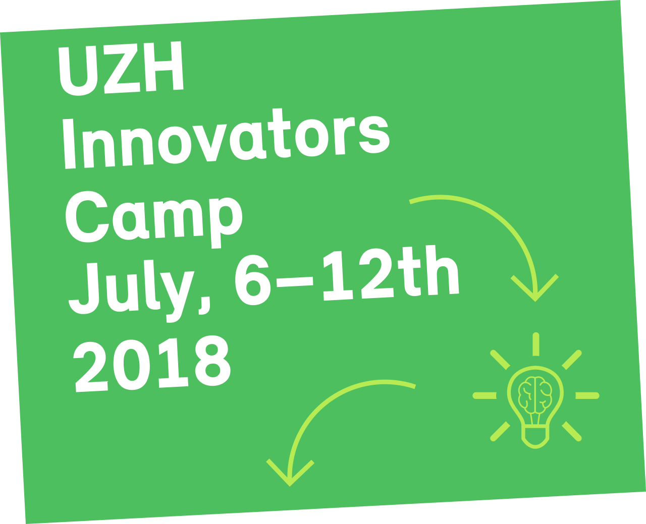 UZH Innovators Camp July 2018
