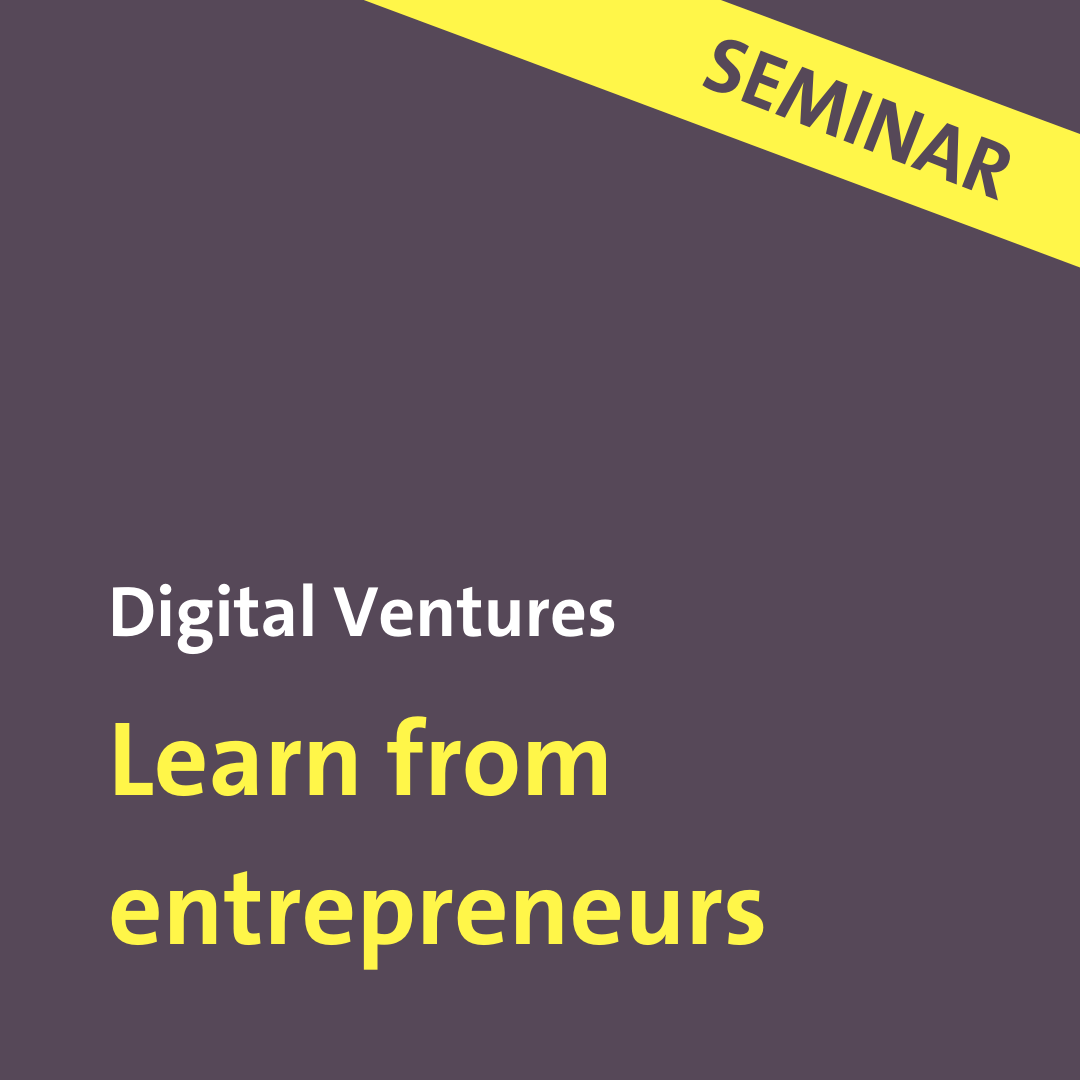 Learn from entrepreneurs seminar