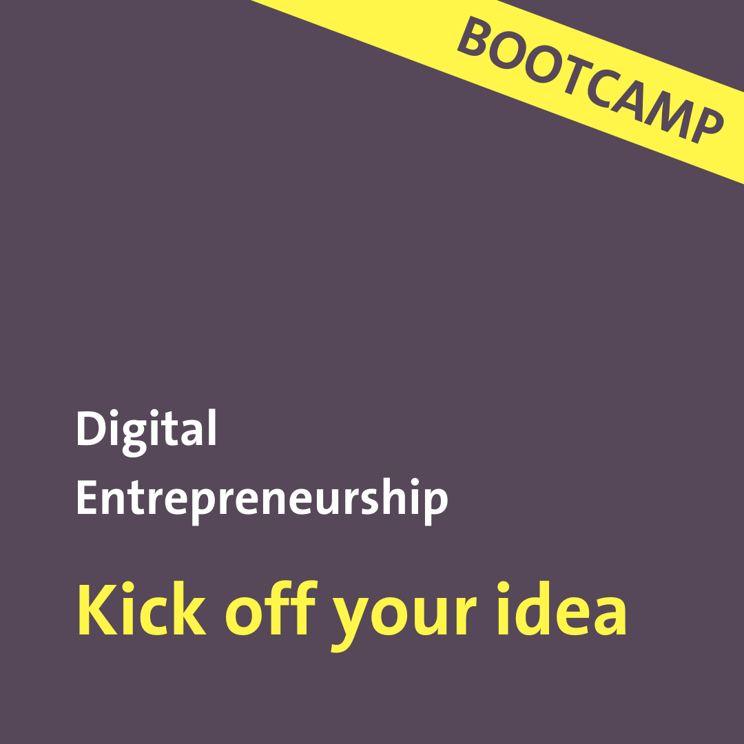 Kick off your idea with the UZH Bootcamp